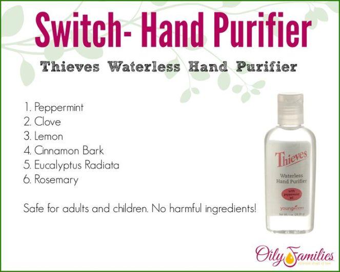 switch hand purifier