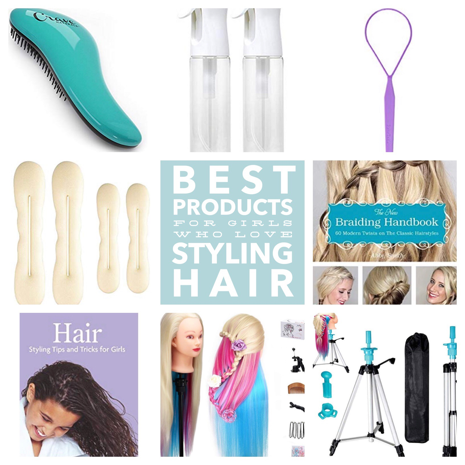 Best Products for Girls Who Love Styling Hair